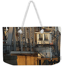 Winter Bridgehouse Weekender Tote Bag