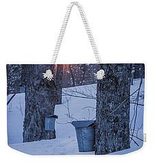 Winter Buckets Weekender Tote Bag
