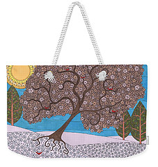 Winter Calm Weekender Tote Bag