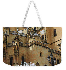 Winter Cathedral Weekender Tote Bag
