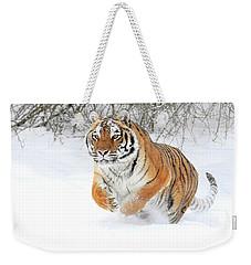 Winter Charge Weekender Tote Bag