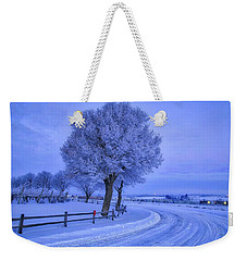 Winter Chill Weekender Tote Bag