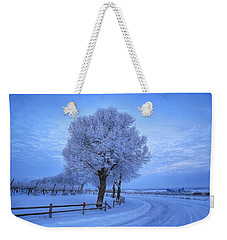 Winter Chill Version 3 Weekender Tote Bag