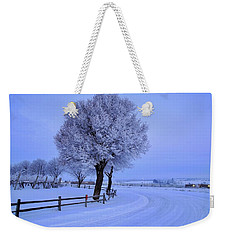 Winter Chill Version 2 Weekender Tote Bag