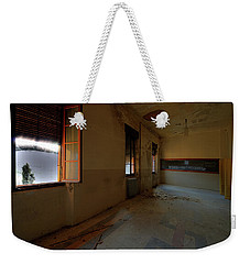Weekender Tote Bag featuring the photograph Winter Class Atmosphere - Atmosfera Scolastica Invernale by Enrico Pelos