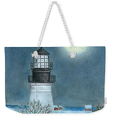 Winter Coast Weekender Tote Bag by Troy Levesque