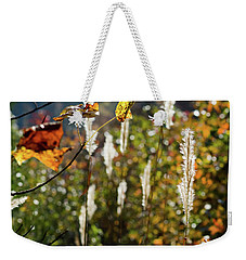 Weekender Tote Bag featuring the photograph Winter Color by George Randy Bass
