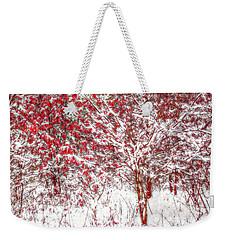 Winter Color  Weekender Tote Bag by Randy Steele