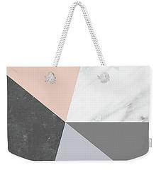 Winter Colors Collage Weekender Tote Bag by Emanuela Carratoni