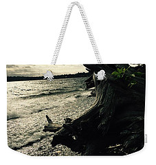 Winter Comes To The Sea Weekender Tote Bag
