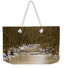 Winter Creek Weekender Tote Bag