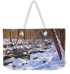 Winter Crisp Weekender Tote Bag by Angelo Marcialis