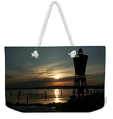 Winter Dawn Weekender Tote Bag