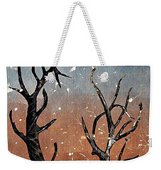 Winter Day Weekender Tote Bag by Sarah Loft