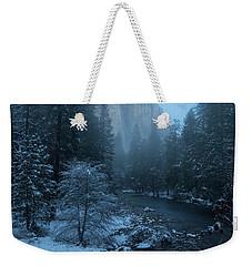 Winter El Cap  Weekender Tote Bag