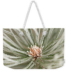 Winter Evergreen Weekender Tote Bag by Ana V Ramirez
