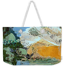 Winter Fantasy Weekender Tote Bag by Nancy Kane Chapman