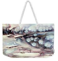 Winter Ferytale Weekender Tote Bag