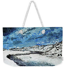 Winter Filled Arroyo Weekender Tote Bag