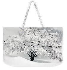 Winter Fluff Weekender Tote Bag