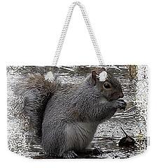 Winter Foraging Weekender Tote Bag by I'ina Van Lawick