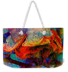 Winter Garden Interlude Weekender Tote Bag by Anastasia Savage Ealy