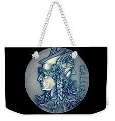 Winter Goddess Of Gaul Weekender Tote Bag by Fred Larucci