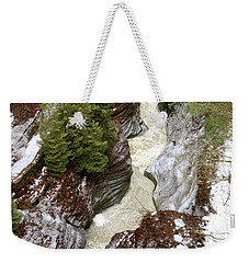 Winter Gorge Weekender Tote Bag