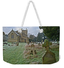 Winter Graveyard Weekender Tote Bag