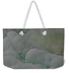 Winter Green Weekender Tote Bag
