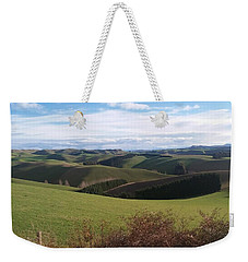Winter Hills Weekender Tote Bag