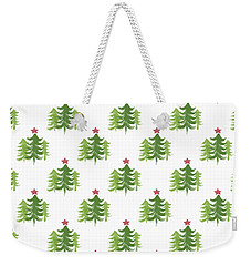 Winter Holiday Trees 2- Art By Linda Woods Weekender Tote Bag