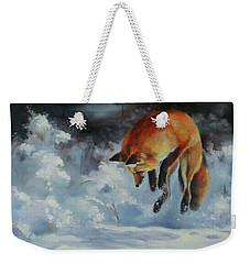 Winter Hunt Weekender Tote Bag