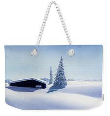 Winter In Austria Weekender Tote Bag