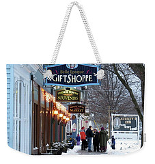 Winter In Cape Vincent Weekender Tote Bag