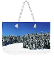 Winter In Colorado  Weekender Tote Bag