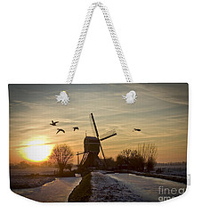 Winter In Holland-2 Weekender Tote Bag