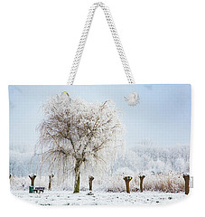 Winter In Holland Weekender Tote Bag