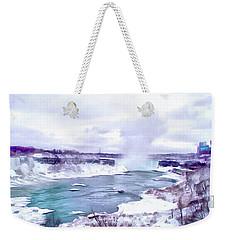 Winter In Niagara 1 Weekender Tote Bag