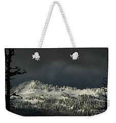 Winter In North Cascades Weekender Tote Bag