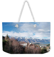 Winter In Queenstown Weekender Tote Bag