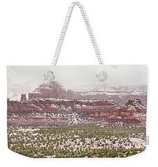 Winter In Sedona Weekender Tote Bag
