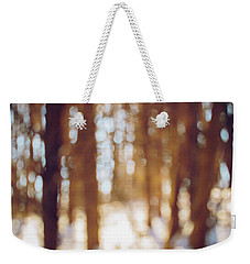 Winter In Snow Weekender Tote Bag