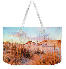 Winter In South Walton Weekender Tote Bag by Cathy Findley
