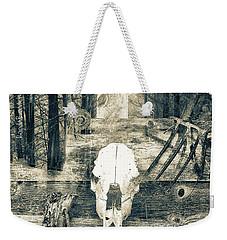 Winter In The In The Woods Weekender Tote Bag