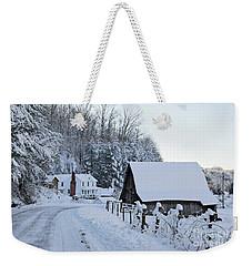 Winter In Virginia Weekender Tote Bag