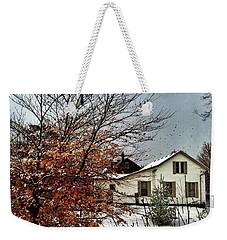 Winter In Woodstock Weekender Tote Bag