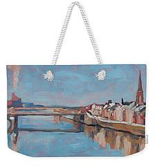 Winter In Wyck Maastricht Weekender Tote Bag