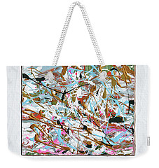 Winter Joy Weekender Tote Bag by Donna Blackhall