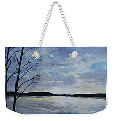 Winter Lake, Sundborn Weekender Tote Bag